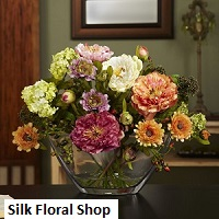 silk flower arrangements